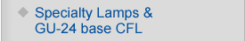 Specialty Lamps & GU-24 base CFL
